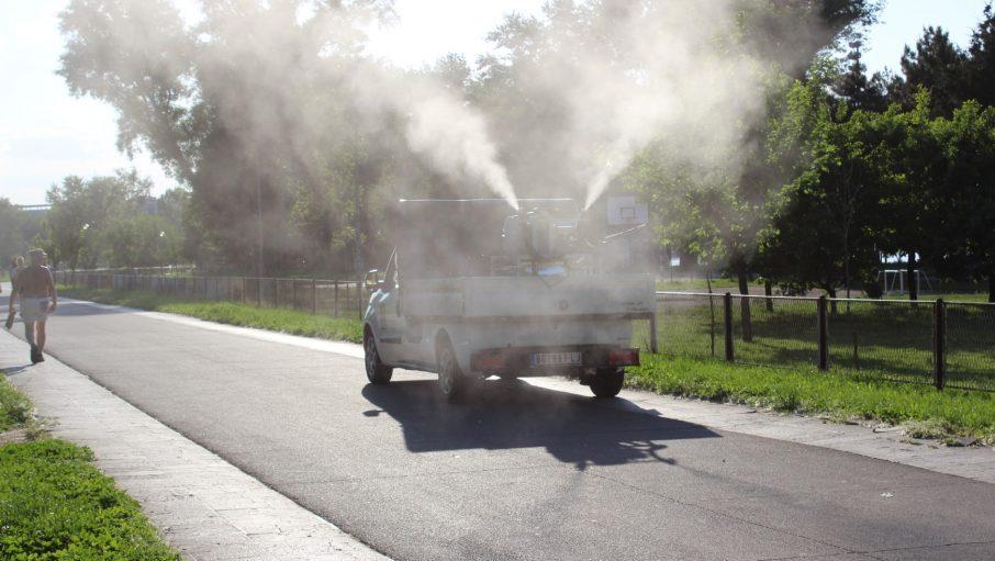 Gradska čistoća apelovala na građane da omoguće uništavanje komaraca 1