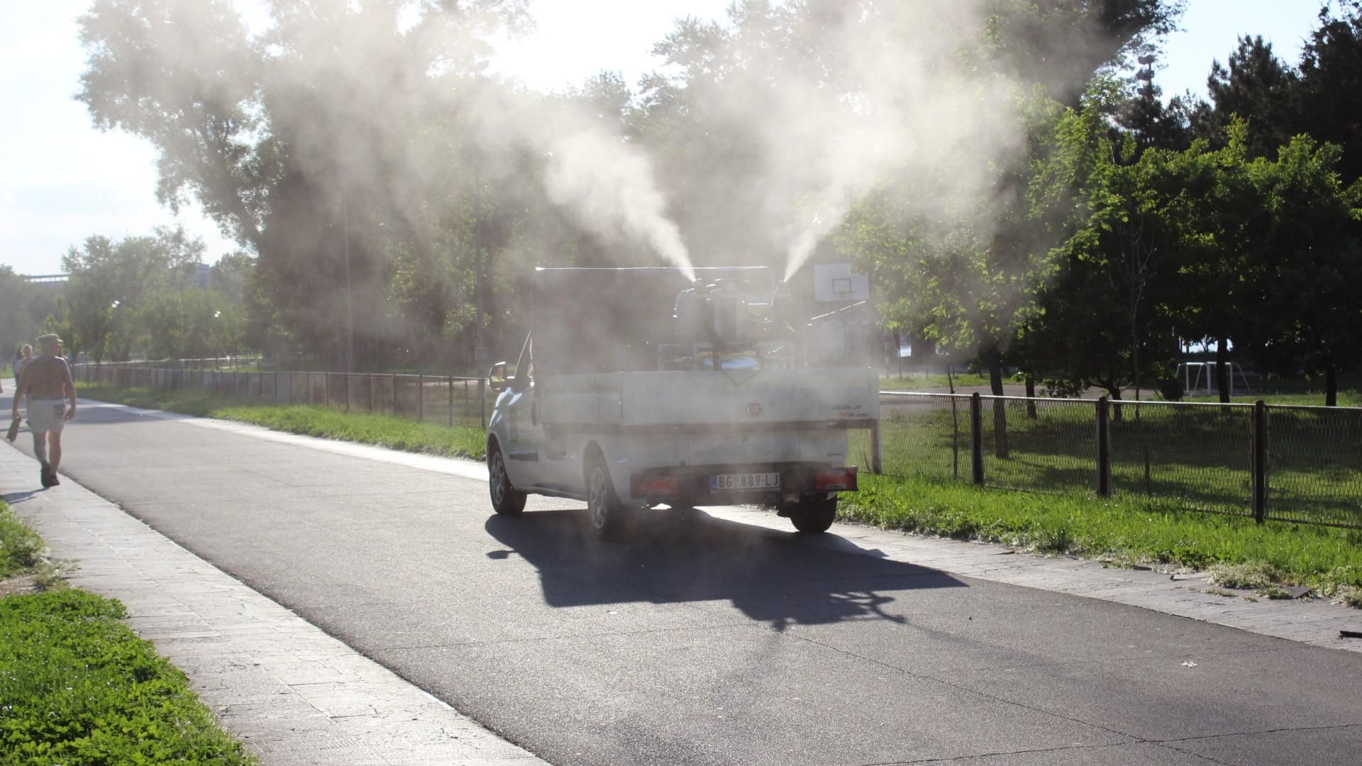Večeras i sutra u Beogradu akcija suzbijanja komaraca sa zemlje 16