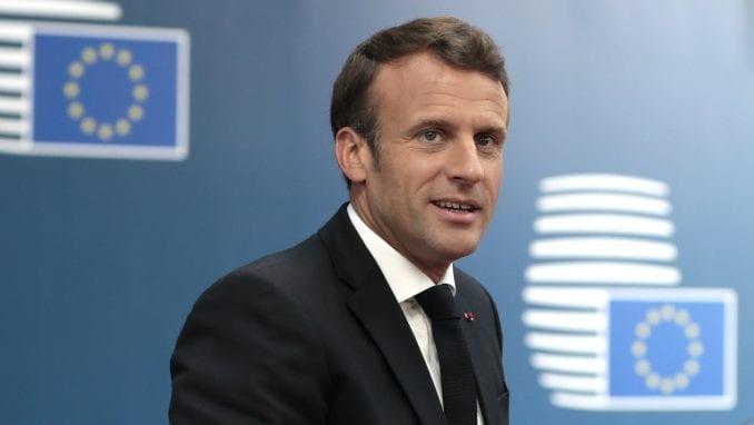 Makron u Savetu Evrope upozorio da je strah pogodan za autoritarne režime 1