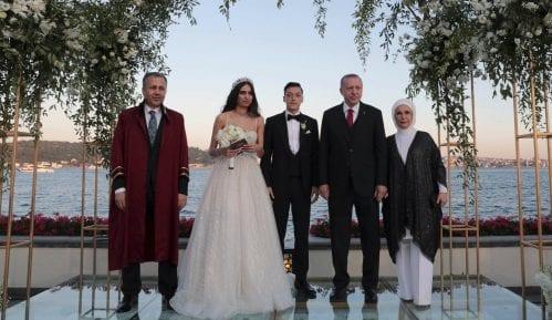 Erdogan kum na venčanju Mesuta Ozila 1