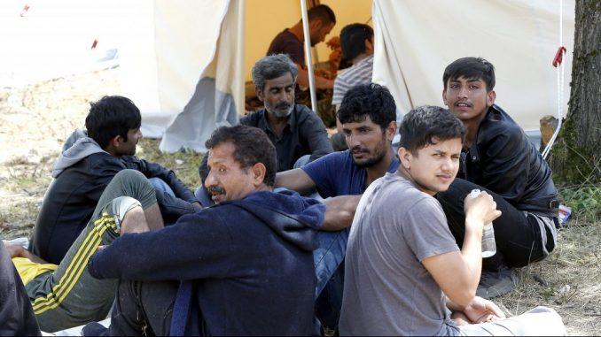 Sukob migranata i policije u kampu Lipa kod Bihaća, upotrebljeno i vatreno oružje 3