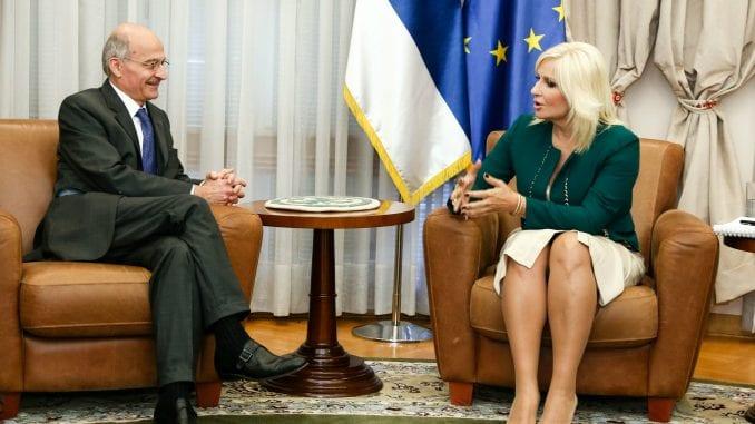 """Mihajlović razgovarala sa predstavnicima """"Alstoma"""" o izgradnji beogradskog metroa 3"""