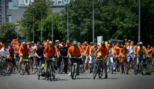 Šesta Narandžasta biciklistička vožnja 8. juna u Beogradu 8