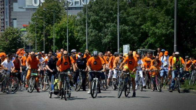 Šesta Narandžasta biciklistička vožnja 8. juna u Beogradu 4