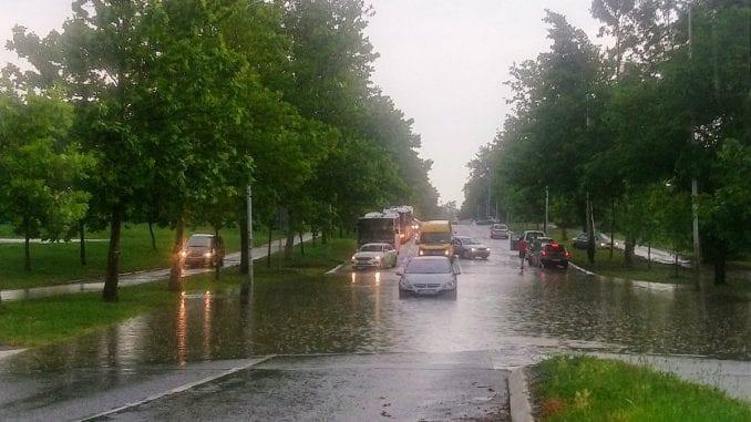 Gradske službe otklanjaju posledice nevremena u Beogradu 1