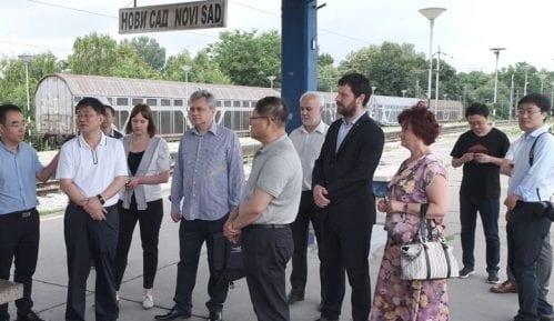 Tungđun obišao trasu buduće pruge za velike brzine Novi Sad - Subotica 4