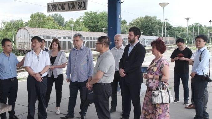 Tungđun obišao trasu buduće pruge za velike brzine Novi Sad - Subotica 3