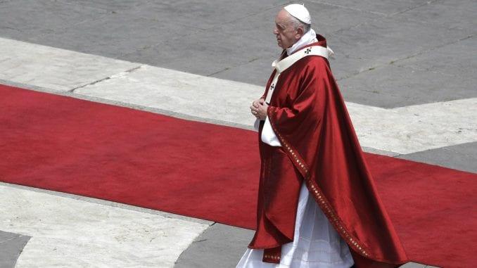 Papa Franja: Mržnja kao u doba Hitlera 1