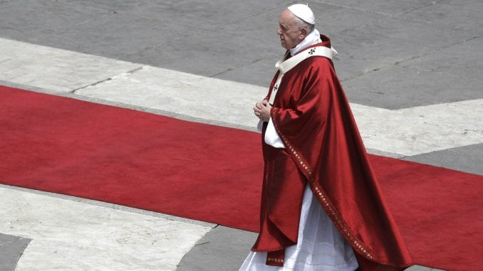 Papa odao priznanje progonjenim hrišćanima 1