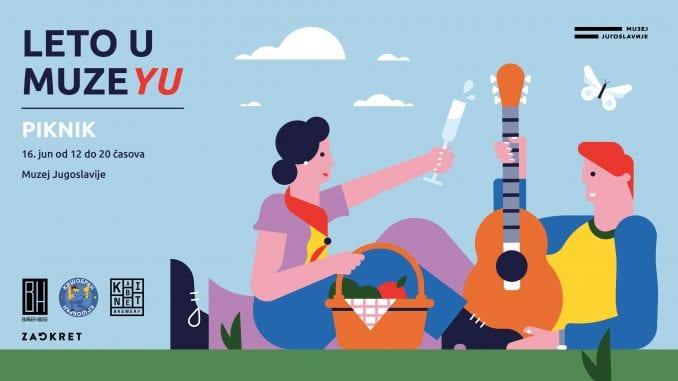 Piknik u Muzeju Jugoslavije u nedelju 1