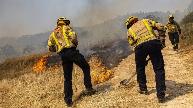 U velikom požaru na severoistoku Španije izgorelo 5.500 hektara šume 1