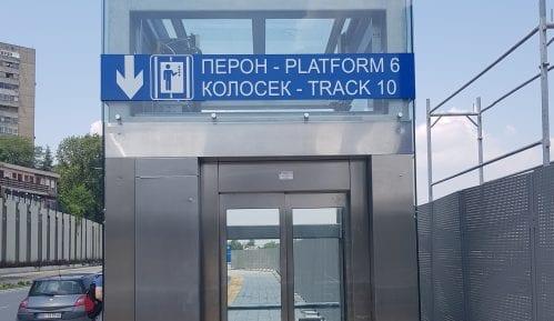 U železničkoj stanici Beograd Centar dva novoizgrađena lifta 15