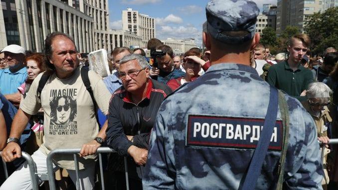 """Oko 1.600 Rusa na protestu protiv """"policijskog despotizma"""" 2"""