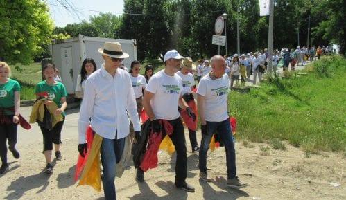 Održana akcija čišćenja Savskog keja 8