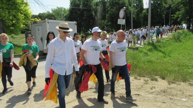 Održana akcija čišćenja Savskog keja 3