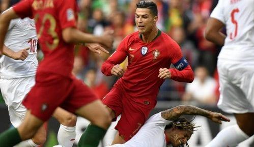 Het-trik Ronalda, Portugal prvi finalista Lige nacija 11