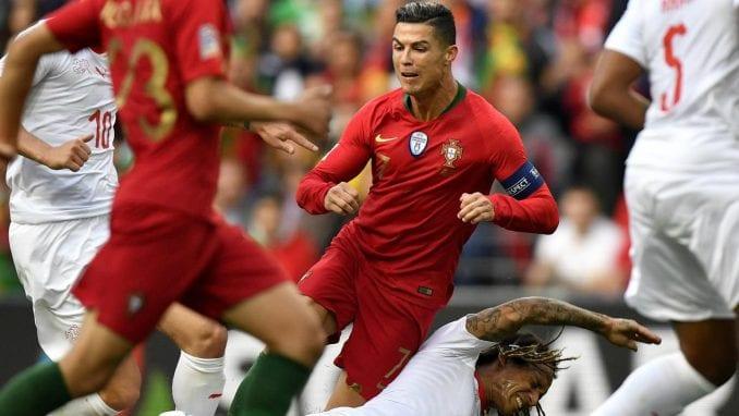 Het-trik Ronalda, Portugal prvi finalista Lige nacija 3