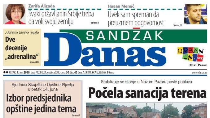 Sandžak Danas - 7. jun 2019. 1