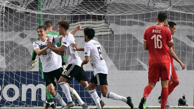 Mladi fudbaleri Srbije poraženi od Nemačke, bez šanse za polufinale 1