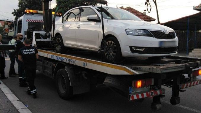 Oduzeto vozilo od neregistrovanog lica za obavljanje taksi prevoza 3