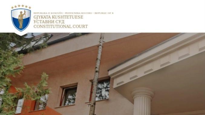 Ustavni sud Kosova naložio održavanje vanrednih izbora 3