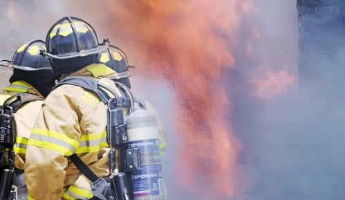 Požar u skladištu konjaka 2