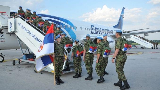 Smena srpskog kontingenta angažovanog u multinacionalnoj operaciji u Libanu 2