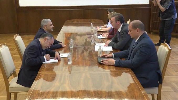 Vučić i ambasador Irana razgovarali o bilateralnim odnosima, aktuelnoj situaciji 4