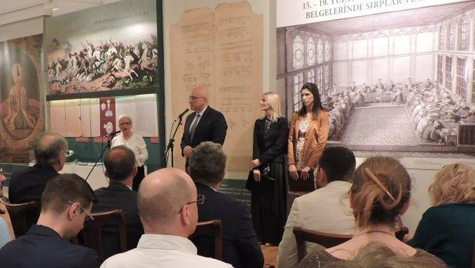 """Otvorena izložba """"Srbi i Srbija u osmanskim dokumentima 15-19. veka"""" u Arhivu Srbije 2"""