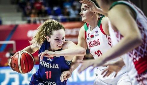 Košarkašice Srbije pobedile Belorusiju 15