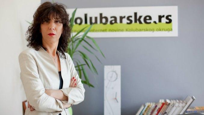 NUNS pozvao nadležne da zaštite urednicu portala Kolubarske od progona 1