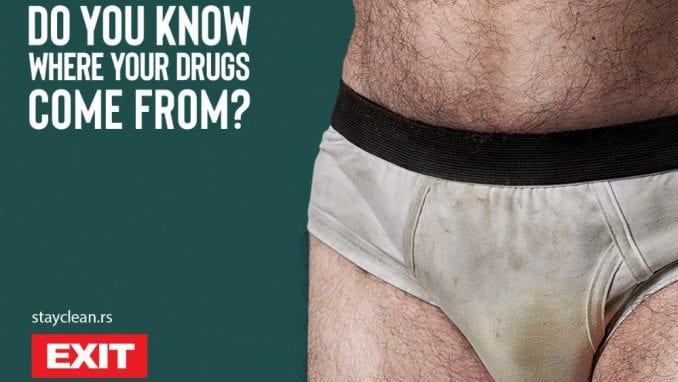 Koliko je delotvorna EXIT-ova kampanja protiv droge? 1
