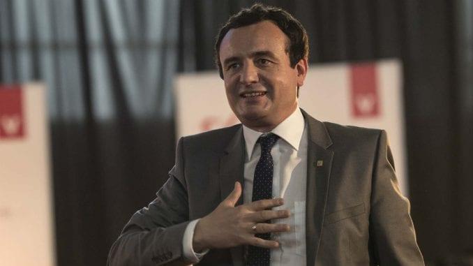 Kurti poručio Tačiju da ne iznosi političke ocene o određivanju mandatara i da ne preti 4
