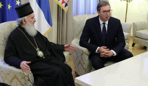 Patrijarh u razgovoru sa Vučićem: SPC će poštovati mere Vlade 4