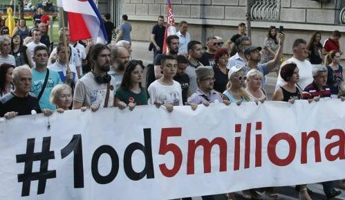 """Aktivista """"1 od 5 miliona"""": Izveštaj MUP laž, uhapšen sam zbog duvanja u pištaljku 4"""
