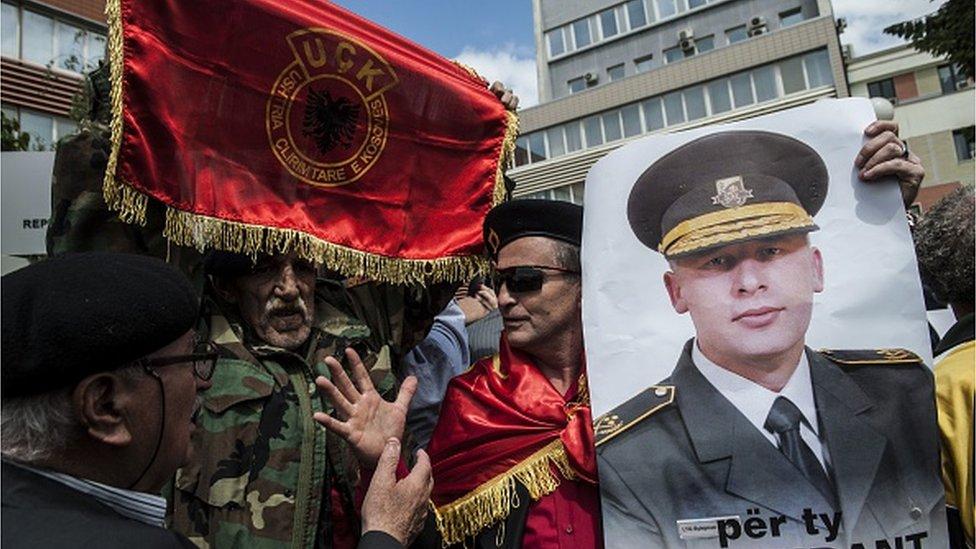 Kosovski Albanci protestuju protiv hapšenja komandanta OVK