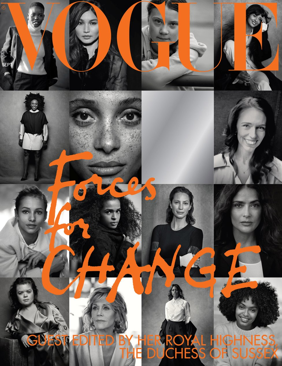 Vogue front cover