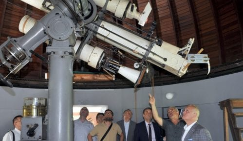 Vesić: Rekonstrukcijom Opservatorije Beograd će dobiti još jednu atrakciju 1