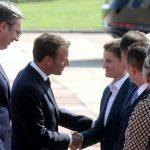 Makron u Srbiji: Francuska nikada neće zaboraviti žrtvovanje srpskog naroda 7