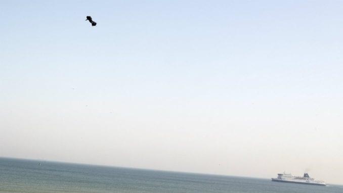 Leteći čovek pao na pola puta u pokušaju prelaska Lamanša 3