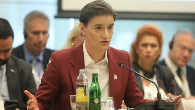 Brnabić: Konstruktivan rad Radne grupe i Vlade u izradi Medijske strategije 1