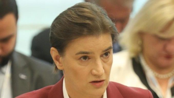 Brnabić apelovala na institucije u Briselu da reaguju na zabranu da Vulin poseti Kosovo 4