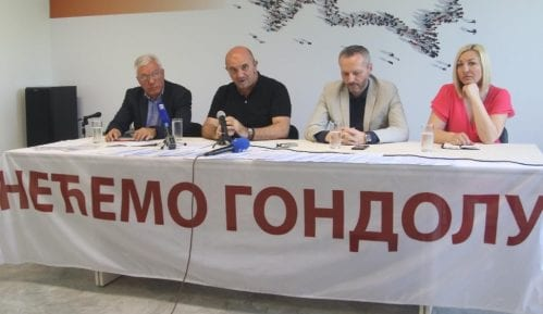 GDF predao peticiju sa zahtevom da se odustane od gondole 4