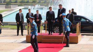 Makron u Srbiji: Francuska nikada neće zaboraviti žrtvovanje srpskog naroda 18