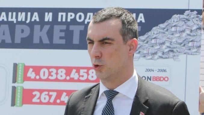 Orlić (SNS): Đilas lično organizovao i platio demonstracije 2