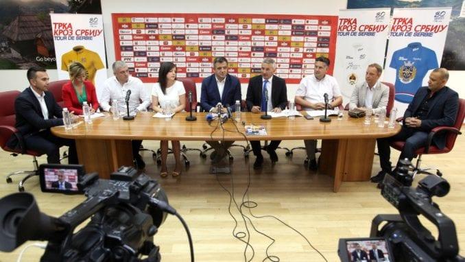 Biciklistička Trka kroz Srbiju 59. put, od 29. jula do 2. avgusta 2