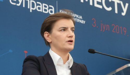 Sastanak Brnabić - Zaev 26. avgusta u Skoplju 2