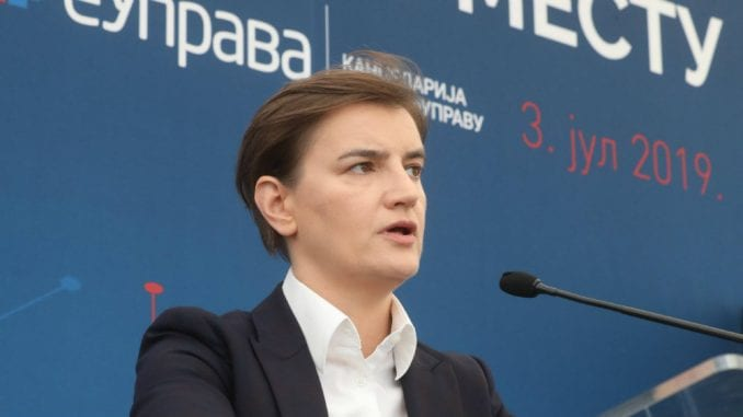 Brnabić: GMO se bespotrebno politizuje, važno je da Srbija bude članica STO 1
