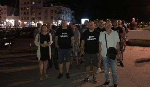 Inicijator antifašističkih šetnji u Nišu brine za sigurnost porodice 15