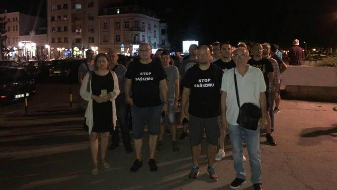 Inicijator antifašističkih šetnji u Nišu brine za sigurnost porodice 1
